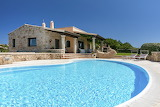 Luxury traditional stone villa, and pool, in Sardinia