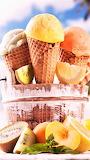 #Fruity Sorbet