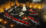 Holiday market in Old Town Square. Prague. Czech Republic