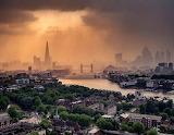 Stormy London