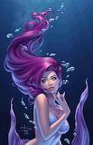 Mermaid in purple