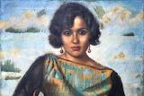 Portrait de Madame Batanouni Bey (Detail) by Mahmoud Said 1923