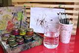 Pinturas y pinceles