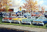 1950's OK Car Lot