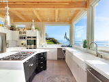 Pacific Dream Kitchen Coastal View