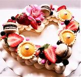 #Valentine Cream Tart by Liz Bushong