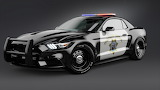 2017 Ford Mustang police car