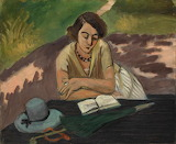 Henri Matisse, Reading Woman with Parasol, 1921