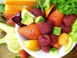 healthy food-fruits salad