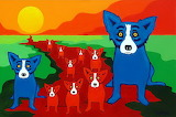 BlueDogsOnTheRedRiver_Rodrigue