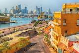 ^ Scenic view of Cartagena, Columbia