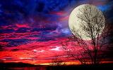 Super-moon-spectacular-sunset