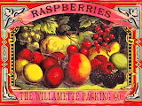 #Willamette Packing Company Raspberry Label