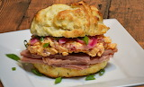 ^ Pimento Cheese and Ham Biscuit