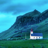 The Lone Church, Iceland...