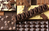 Various types of chocolate