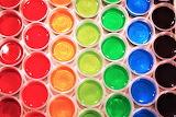 #Rainbow Jello Shots