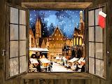 Window - christmas market