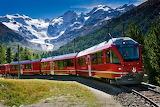 Train de montagne -Suisse.