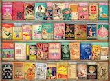 Vintage cookbooks by Aimee Stewart