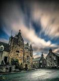 Fordyce Castle near Cullen Scotland