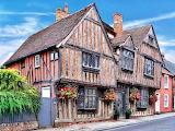 Tudor house Lavenham