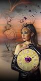 fantasy-girl+clock