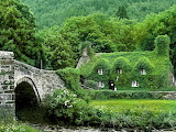 A 500 year old teahouse-northern wales