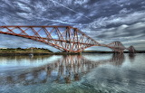 Forth-rail-bridge Edinburgh Scotland
