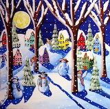 ^ Renie Britenbucher ~ Magic Snowmen