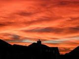 Sunset Fire In The Missouri Sky