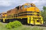 EMD GP40-2W Huron Central Railway Diesel Locomotive Train