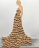 ^ Pistachio shells art - Edgar Artis