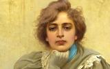 Dreams - Sogni, Vittorio Matteo Corcos 1896 (Detail)