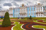 Palace, grass, trees, design, people, lawn, Saint Petersburg, Ru