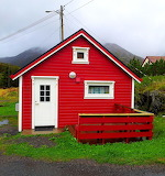 Norway-red cottage