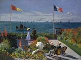 ^ Claude Monet ~ The Garden at Sainte-Adresse