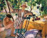 Henri Lebasque - Garden in Summer