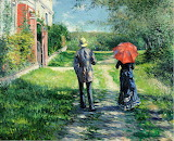 The Path Uphill~ Gustave Caillebotte