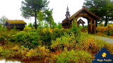 Alte Kirche in Fjell (church in Norway) by Kornelia Andra from a