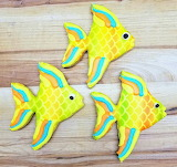Fishy cookies @ Cinotti's