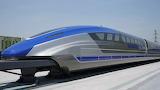 China's maglev train-prototype
