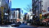 Japan tokyo street road urban landscape