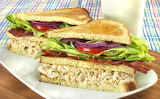 ^ Tuna Club Sandwich