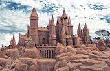 Creative Wallpaper Sand castle