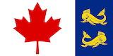Bow jack Coastguard Flag of Canada