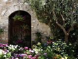Italian-front-door-adorned-with-flowers-marilyn-hunt