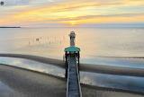 Bay of Saint Louis at sunrise