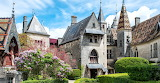 The Château de La Rochepot from Inside the Courtyard