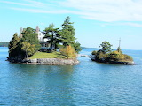 Two islands St. Lawrence River New York State
